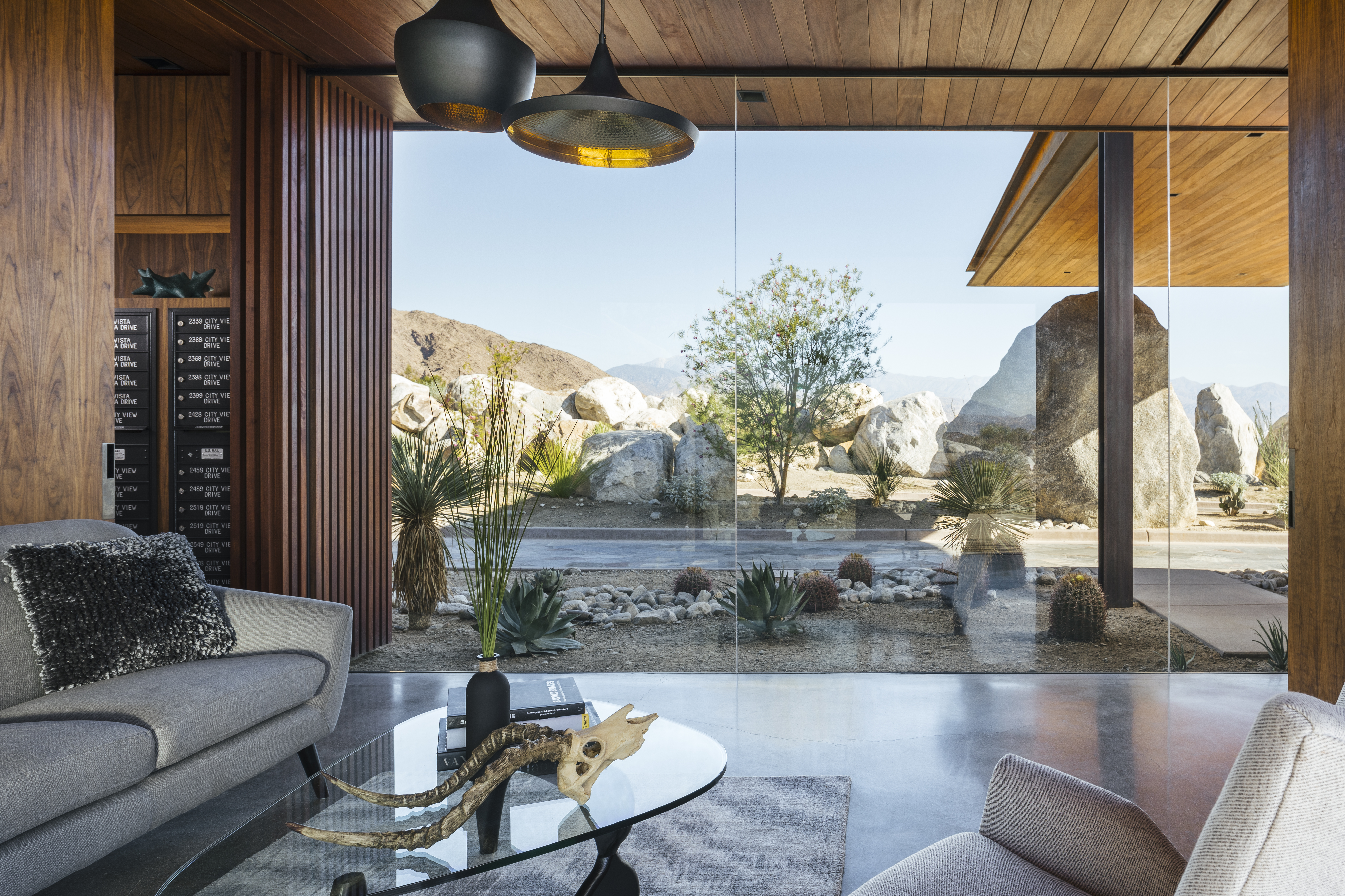 R Home Design Palm Desert Part - 16: Combination Wood, Concrete, And Steel Structural Design Featuring  Conventional Roof Frame, Conventional Slab On Grade, And Design Footings  For Guard House.
